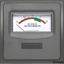 BEP PAN 1000 SERIES 12 Volt Meter Panel