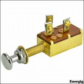 BEP SPST Push-Pull Switch
