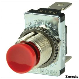 BEP SPST Momentary Contact Switch