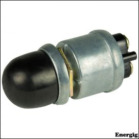 BEP SPST Heavy-Duty Push Button Switch