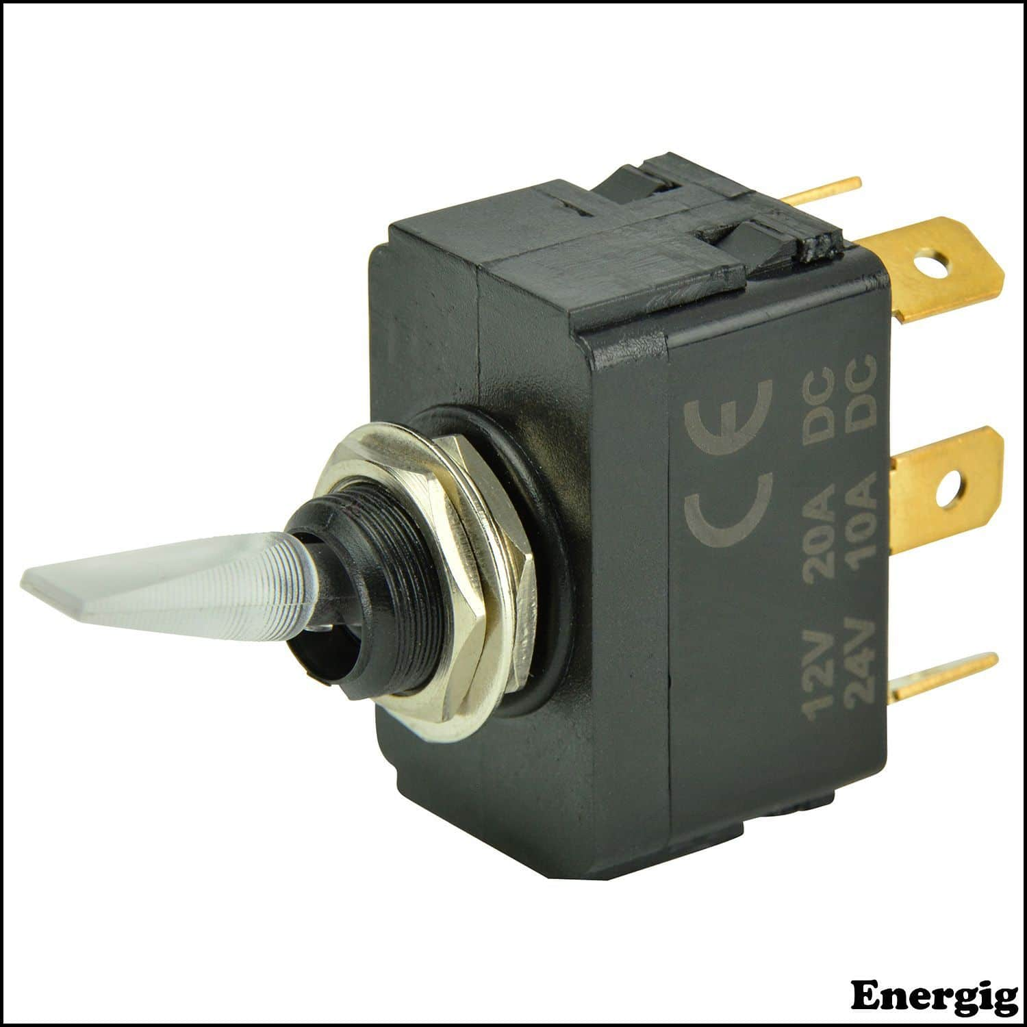 Wiring A 12v Lighted Toggle Switch