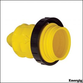 Marinco Weatherproof Cover With Threaded Sealing Ring