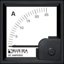 Blue Sea Systems DIN AMtr DC 0–25A w/internal Shunt