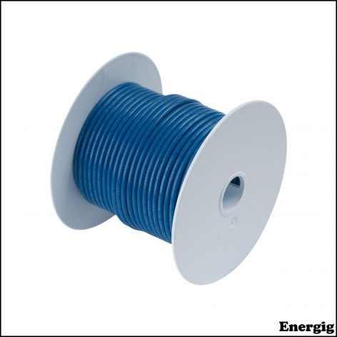 Ancor 100ft Tinned Copper Wire 12 AWG (3mm²) Blue