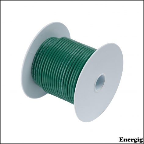 Ancor 100ft Tinned Copper Wire 12 AWG (3mm²) Green