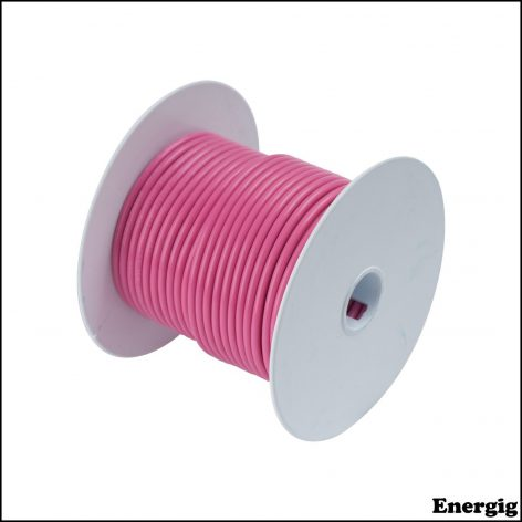 Ancor 100ft Tinned Copper Wire 12 AWG (3mm²) Pink