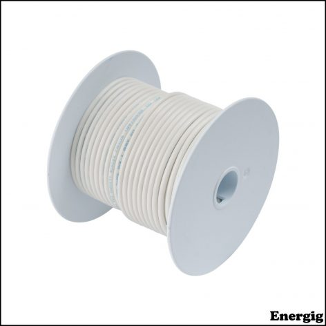 Ancor 100ft Tinned Copper Wire 12 AWG (3mm²) White