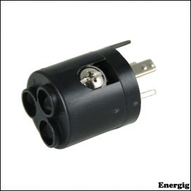 Marinco 3-Wire 6AWG ConnectPro Wire Receptacle Adapter