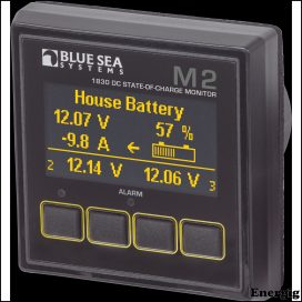 Blue Sea Systems Monitor M2 OLED DC SOC
