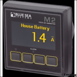 Blue Sea Systems Monitor M2 OLED DC Amperage
