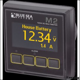 Blue Sea Systems Monitor M2 OLED DC Multimeter