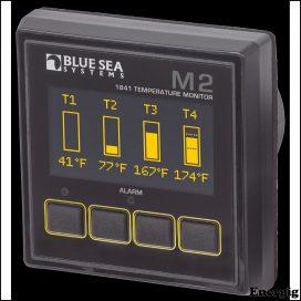 Blue Sea Systems Monitor M2 OLED Temp
