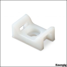 Ancor Cable Tie Mount #8 Screw Natural 100 pcs