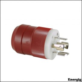 Marinco 4-Wire 12/24V Charger Plug