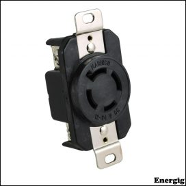 Marinco 4-Wire 12/24V Bass Boat Receptacle