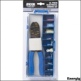 Ancor Connector Kit with Crimp Tool 30 pcs