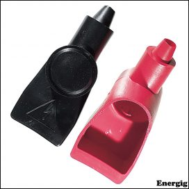 Ancor Wing Nut Style Battery Terminal Boots 4-2 AWG (21-33 mm2) Black