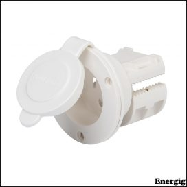 ProMariner PROSPORT AC Plug Holder White