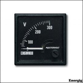 Mastervolt AC Volt meter 0-300 V
