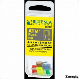 Blue Sea Systems Fuse Kit ATM 5 Piece