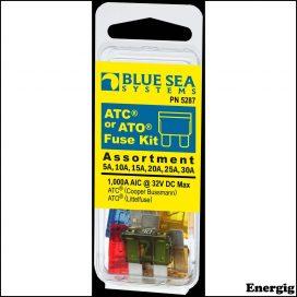 Blue Sea Systems Fuse Kit ATO/ATC 6 Piece