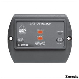 BEP Gas Detector with Control