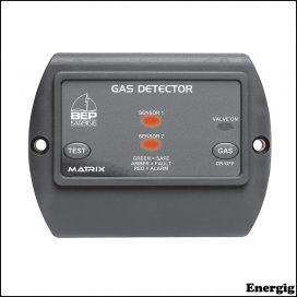 BEP gasdetektor med kontrol