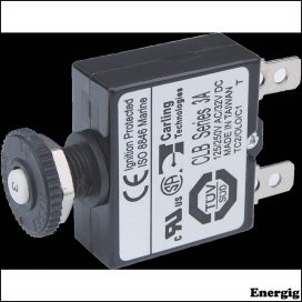 Blue Sea Systems circuit Breaker Push Button QC 3A