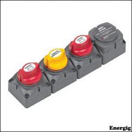 BEP Cluster Single Engine 701 Battery/DVSR Vertical