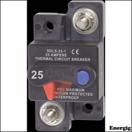 Blue Sea Systems circuit Breaker Klixon SfcMt 25A