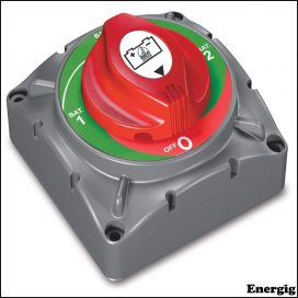 BEP Heavy-Duty Battery Selector Switch