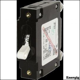 Blue Sea Systems circuit Breaker CA1Toggle 50A White