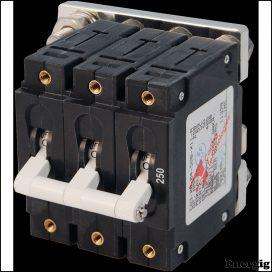 Blue Sea Systems circuit Breaker CA3Toggle 250A White