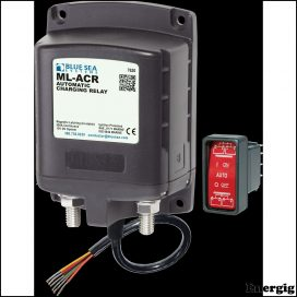Blue Sea Systems ML-ACR Automatic Charging Relay ML 500A 12V (incl 2146-BSS Switch)