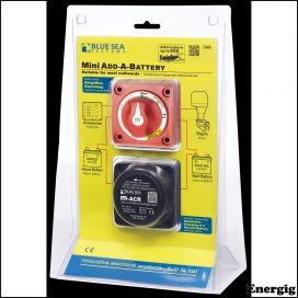 Blue Sea Systems Mini Add-A-Battery Kit - 65A