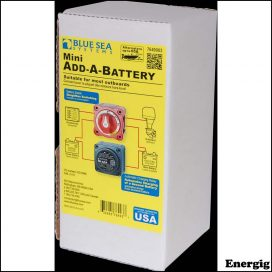 Blue Sea Systems Mini Add-A-Batteri Kit - 65A [pakke]