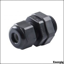 "Ancor Rundt Kabel Pakning 18-10 AWG (2-6 mm²) 3/8 ""NPT Sort 5 stk"
