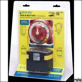 Blue Sea Systems Add-A-Battery Kit - 120A
