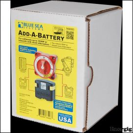 Blue Sea Systems Add-A-Battery Kit - 120A - (Pakke)