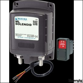 Blue Sea Systems Solenoid ML 500A 12V RBS (inkl. 2145-BSS Switch)