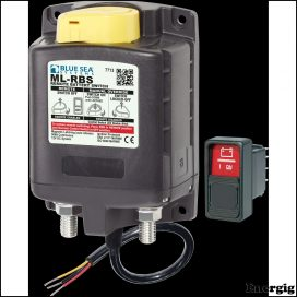 Blue Sea Systems ML-RBS Remote Battery Switch with Manual Control Auto-Release - 12V (incl 2145-BSS Switch)