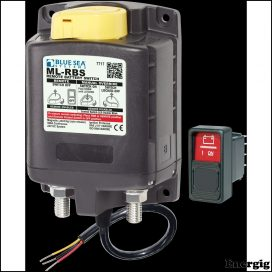 Blue Sea Systems ML-RBS Remote Battery Switch with Manual Control Auto-Release - 24V (incl 2145-BSS Switch)