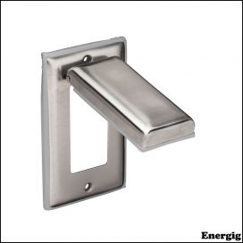 Marinco Stainless Steel Cover With Lift Lid
