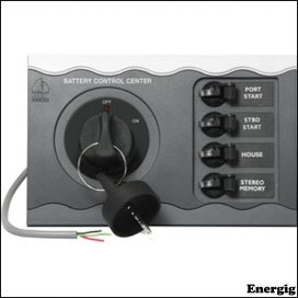 BEP Battery Control f/ Twin Engine Remote