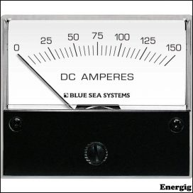 Blue Sea Systems DC Analog Ammeter - 0 to 150A with Shunt