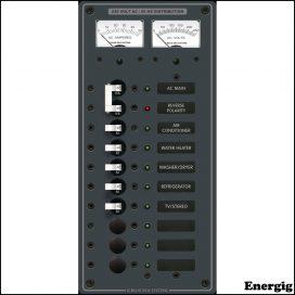 Blue Sea Systems AC Main + 8 Positions (230VAC)
