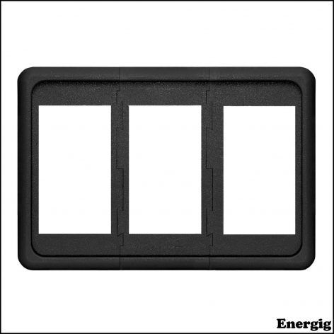 Blue Sea Systems Contura Mounting Panel 3pos