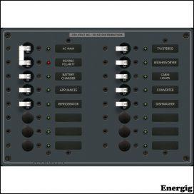 Blue Sea Systems AC Main + 14 Positioner (230VAC)