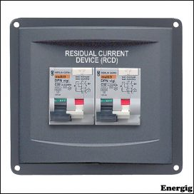 BEP Panel Mounted RCD 1 x 16A