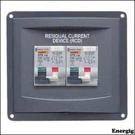 BEP Panel Mounted RCD 1X16A 1X32A